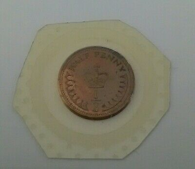 1983 1/2P Coin From A Royal Mint Bunc Set
