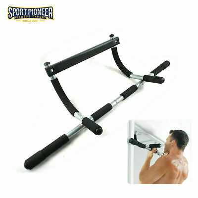 Workout Bar Chin Pull up Body Door Frame Trainer Home Gym Upper Body Exercise