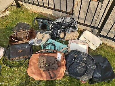 A Bundle Of Various Different Handbags