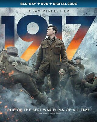 1917 (BLU-RAY +  DVD + DIGITAL) w/SLIPCOVER