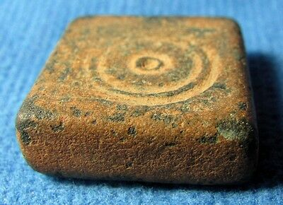 Judaea Unusual bronze weight. Byzantine 5-7cen. AD. 25.80gram. Uncia from Judea.