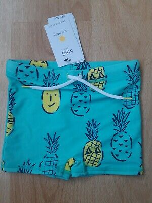 Boys Marks and Spencer swim shorts trunks age 18-24 months bnwt