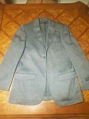 Haggar 2 Button Sports Coat 40R New $200 Msrp