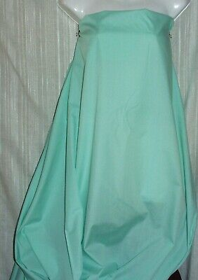 """Mint Green Broadcloth Cotton Polyester Fabric 44"""" Wide Sold By Yard NEW"""