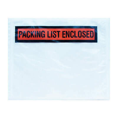 Packing List Envelopes Invoice Enclosed Slip Pouch Self Adhesive Shipping Label