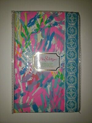Lilly Pulitzer Student Pocket Notebook Set of 2 in Sparkling Sands NWT