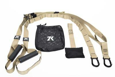 Zk Straps Suspension Trainer Bodyweight Fitness Mobile Workout Training Bundle