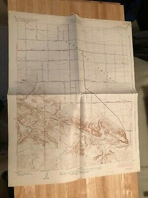 Vintage 1934 USGS Los Angeles County topo map of Pearland quadrangle
