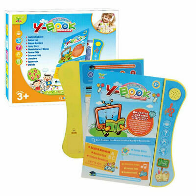 Educational Learning Toy For 3+ Year Old Interactive Book Toddler Kids Children
