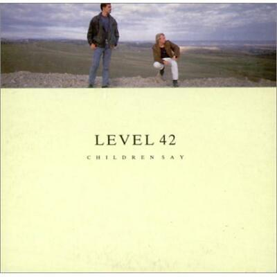 "Level 42 Children Say CD single (CD5 / 5"") UK POCD911 POLYDOR 1987"