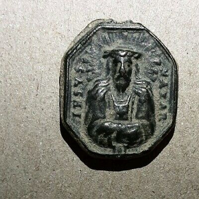 Ancient Christian, Jesus Pendant / Coin. Absolutely Stunning.