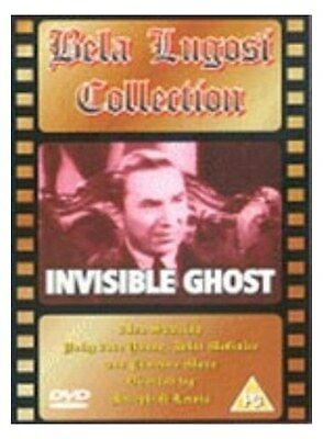 The Invisible Ghost [1941] [New DVD]