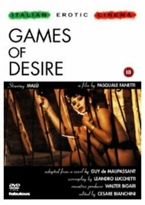 Games Of Desire [New DVD]