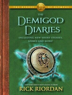 The Heroes of Olympus the Demigod Diaries NEW
