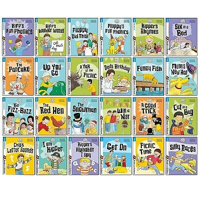 Biff, Chip and Kipper Stage 1 Read with Oxford for Age 3+ Childrens Early Learni
