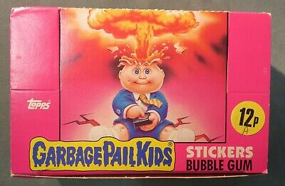 1985 GARBAGE PAIL KIDS Series 1 FULL Box NEW! - 48 Sticker Packs Ireland UK