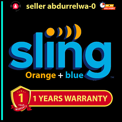 SlingTV | Orange + Blue+ Extra | 3 years  Account  🔥{Live Support}🔥