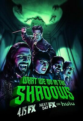 What We Do In The Shadows poster print  - 11 x 17 inches