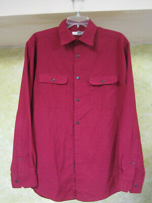 JOE Joseph Abboud Button Shirt Red