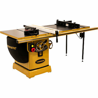 Powermatic Table Saw- 5HP 1PH 230V 50in Rip w/Accu-Fence & Router Lift PM2000B
