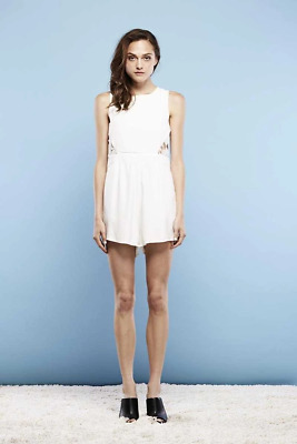 May the Label Idea Lace Back Playsuit