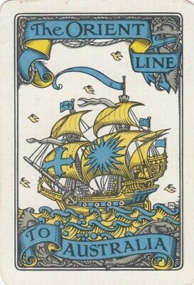 Genuine Swap Playing Card - 1 Single Wide- Shipping Line - #2