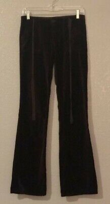 Juicy Couture Velour Tracksuit Brown Pants w/Juicy Couture on the Bottom Sz. 26