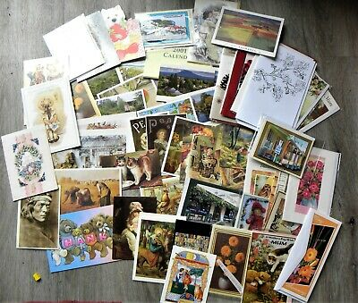 Huge Lot of 85 Greeting/ Birthday/ Thank you/ Blank/ Post Cards