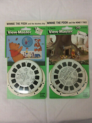 VINTAGE 1990 VIEW-MASTER 3-D BEETLEJUICE 3 REEL SET MINT NEW IN PACKAGE