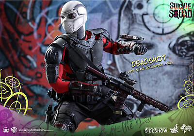 Hot Toys Suicide Squad Deadshot AR-15 Rifle /& Leg Holster loose 1//6th scale