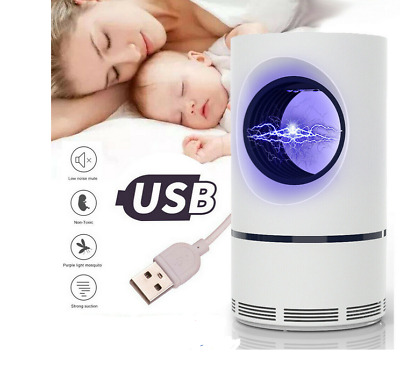 LED Mosquito Killer Lamp UV Night Light USB Insect Killer Bug Zapper Trap lamp