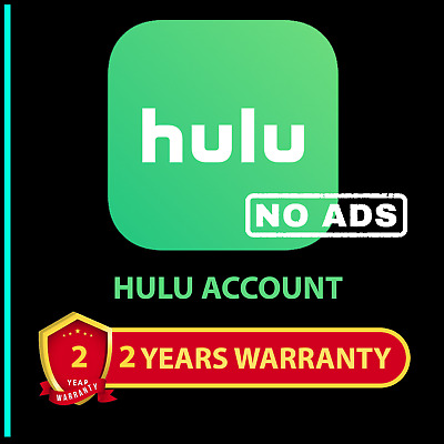 Hulu NO ADS 2 Years Premium Subscription Account Instant Delivery🔥