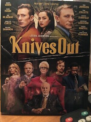 Knives Out (Blu-Ray+DVD+Digital)