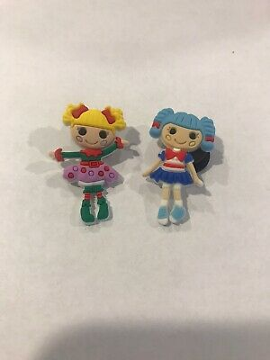 Lalaloopsy Dolls Crocs Charms Lot Of 2