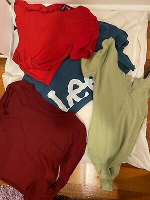 bundle of womans tops size 8/small