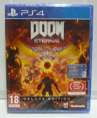 Doom Eternal Deluxe Edition - Sony Ps4 Nuovo Sigillato - New Sealed Pal Version
