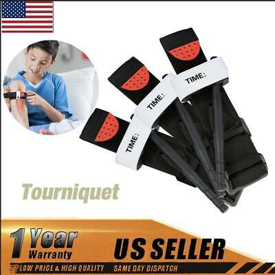 3 Pack Tourniquet Rapid One Hand Application Emergency Outdoor First Aid Kit