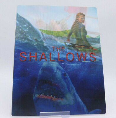 THE SHALLOWS - Lenticular 3D Flip Magnet Cover FOR bluray steelbook