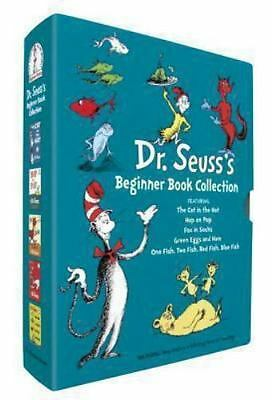 Dr. Seuss's Beginner Book Collection Cat in the Hat One Fish Two Fish Green E...
