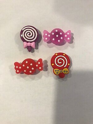 Candy Crocs Charms Lot Of 4