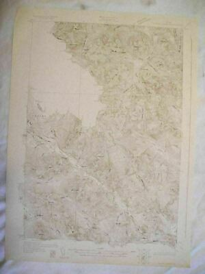 1928 Chain Lakes, ME Maine USGS Topographic Topo Map
