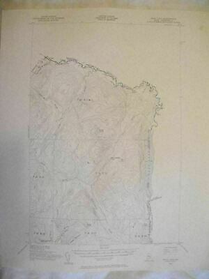 1955 Beau Lake, ME Maine USGS Topographic Topo Map
