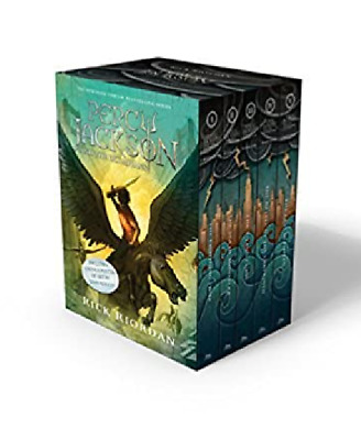 Percy jackson and olympians 5 book set By Rick Riordan collection [P-D-F]
