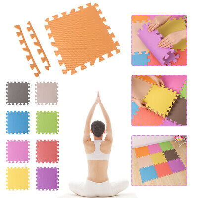 30X30cm Floor Pad EVA Foam Mat Soft Floor Tiles Interlocking Kids Baby Play Pad