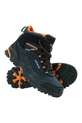 Mountain Warehouse Boys Softshell Kids Boots w/ Mesh Lining & Phylon Midsole