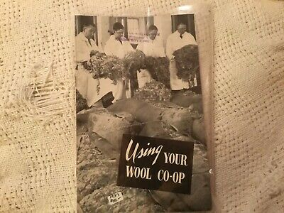 1939 Using your Wool for market Co-Op 12 pages