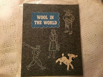 1947 Wool in the World Midwest marketing Kansas City Mo.  31 pages
