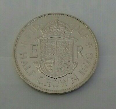 1970 Proof Halfcrown,The Last Ever Minted,From A Royal Mint Year Set