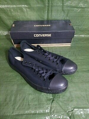 Converse Chuck Taylor Ox M5039 Black Mono Mens Womens Shoes Sneakers Sizes