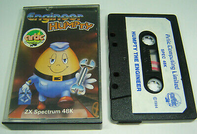 Engineer Humpty From Artic Rare Sinclair Zx Spectrum Game Tape